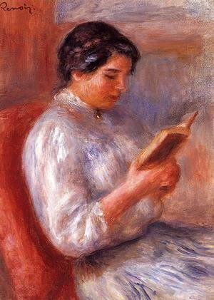 Pierre Auguste Renoir - Woman Reading2