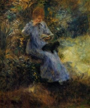 Pierre Auguste Renoir - Woman With A Black Dog