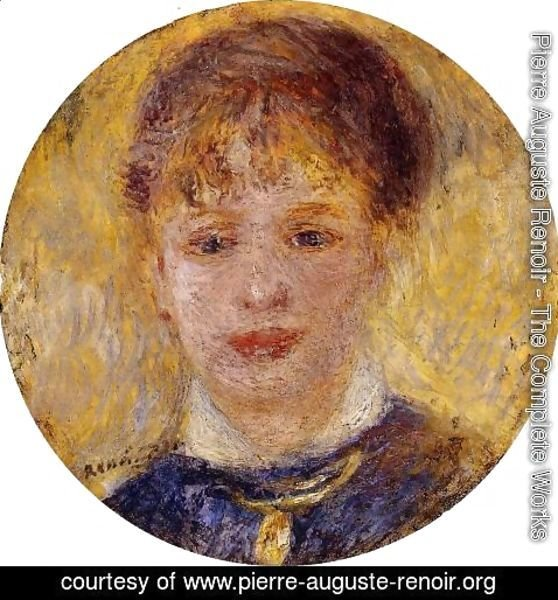 Pierre Auguste Renoir - Womans Head