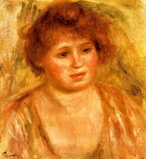 Pierre Auguste Renoir - Womans Head2