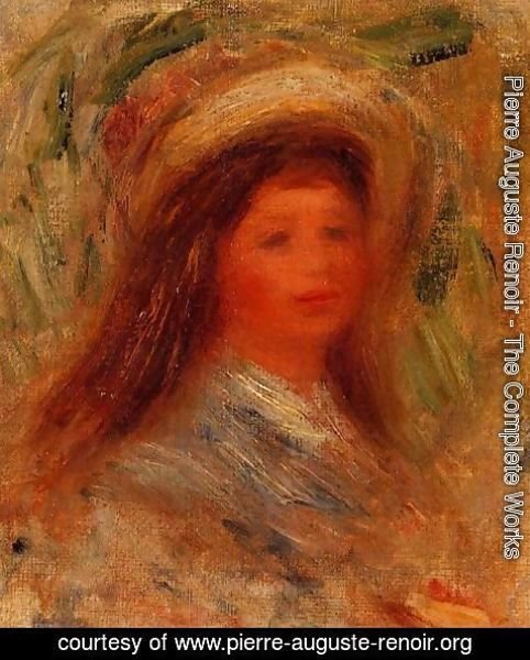Pierre Auguste Renoir - Womans Head3
