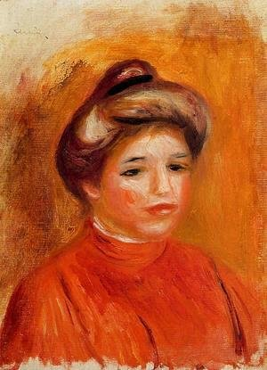 Pierre Auguste Renoir - Womans Head5