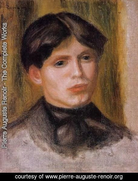 Pierre Auguste Renoir - Womans Head7
