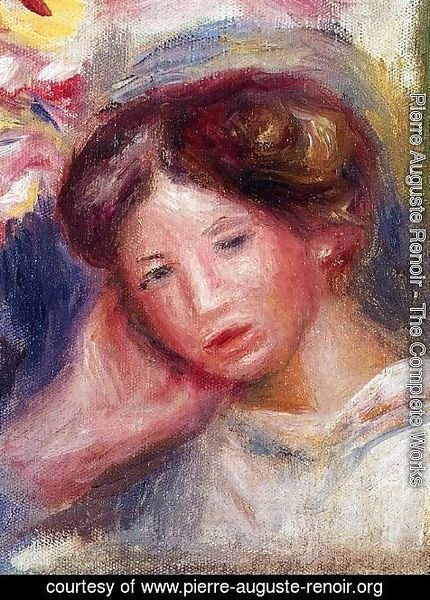Pierre Auguste Renoir - Womans Head8