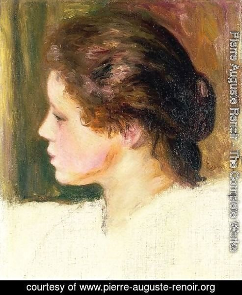 Pierre Auguste Renoir - Womans Head9