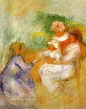 Pierre Auguste Renoir - Women And Child