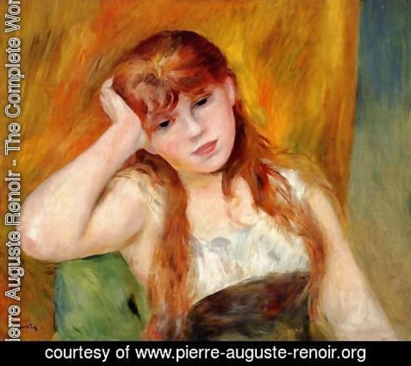 Pierre Auguste Renoir - Young Blond Woman