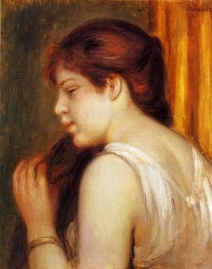 Pierre Auguste Renoir - Young Girl Combing Her Hair