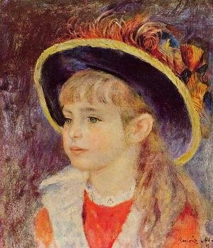 Pierre Auguste Renoir The Complete Works Young Girl