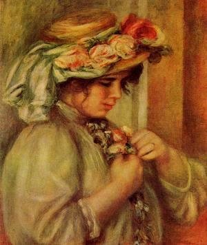 Pierre Auguste Renoir - Young Girl In A Hat