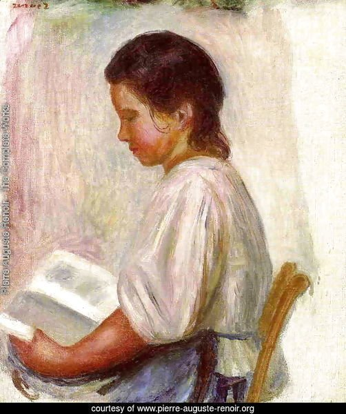 Young Girl Reading3