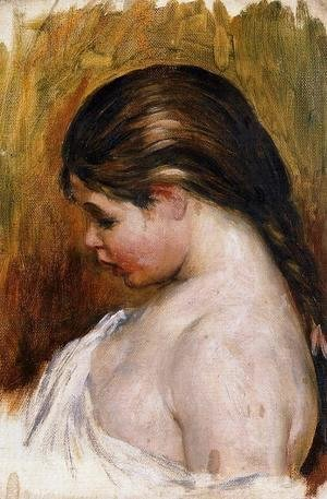 Pierre Auguste Renoir - Young Girl Reading5