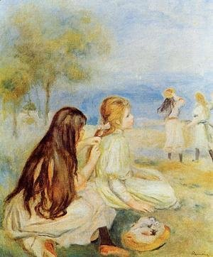 Pierre Auguste Renoir - Young Girls By The Sea 2
