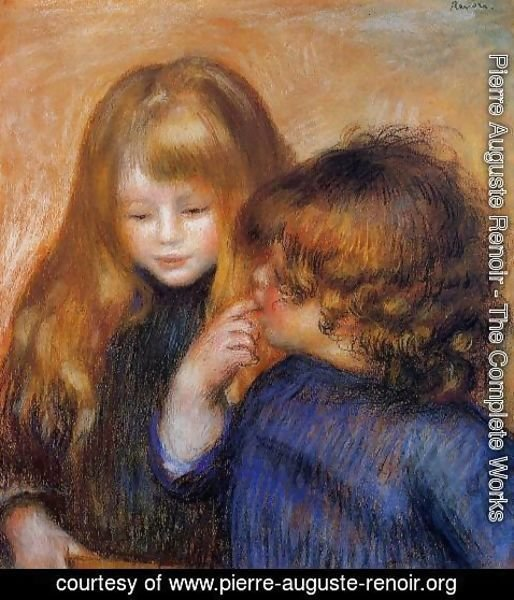 Pierre Auguste Renoir - Young Gypsy Girls