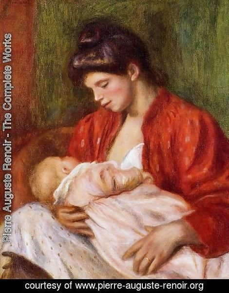 Pierre Auguste Renoir - Young Mother