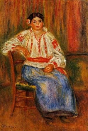 Pierre Auguste Renoir - Young Roumanian