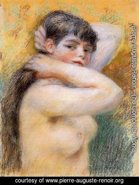 Pierre Auguste Renoir - Young Woman At Her Toilette