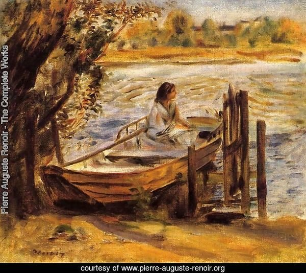 Young Woman In A Boat Aka Lise Trehot