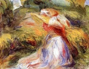 Pierre Auguste Renoir - Young Woman In A Hat2