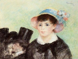 Pierre Auguste Renoir - Young Woman In A Straw Hat4