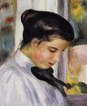 Pierre Auguste Renoir - Young Woman In Profile