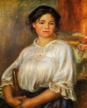 Pierre Auguste Renoir - Young Woman Seated