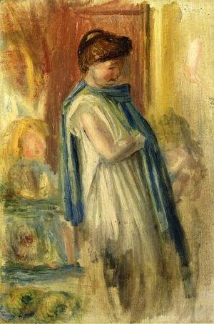Pierre Auguste Renoir - Young Woman Standing