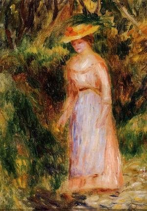 Pierre Auguste Renoir - Young Woman Taking A Walk