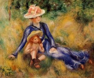 Pierre Auguste Renoir - Yvonne And Jean